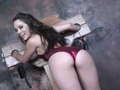 Kristina Rose reamed in her hot pussy