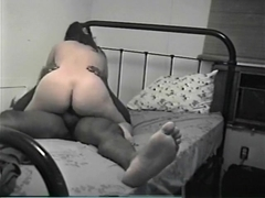 Asian girl has sex with a black guy in various positions