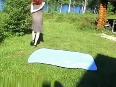 Great amateur backyard house outdoors sex fun my friends,!holy fuck!