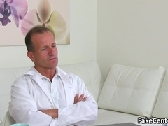 Doctor got fucked on casting interview