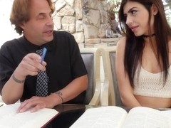 Audrey Royal in Teaching The Tutor How To Fuck - BangBros18