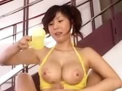 Fabulous Japanese girl Yuma Asami in Incredible POV, Cumshots JAV video