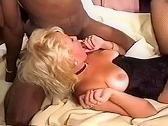 Her dream to be gangbanged by bbc pornstars three