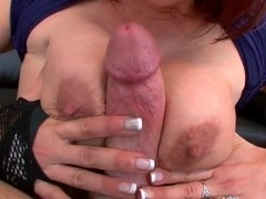 Redhead milf Nicki Hunter likes to be nailed