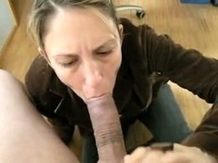 Sexually Excited mature I'd like to fuck receives her wet face gap stuffed with freak wang