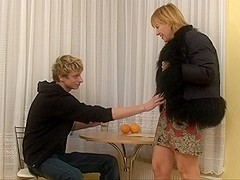 blonde russian mature sex