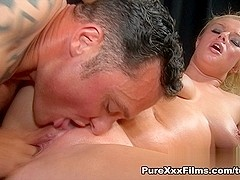 Bonnie Rose in Phat Oily Ass Blonde Video