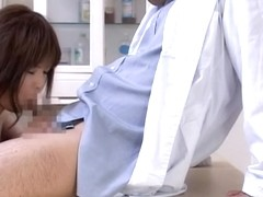 Horny doctor fucked his patient on a routine pussy exam