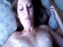 shy bewitching angel drilled on real homemade