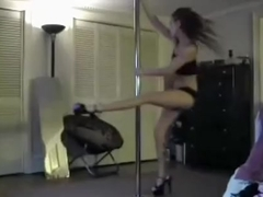 She is a professional stripper