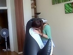 Anne Inflates Whales By Mouth