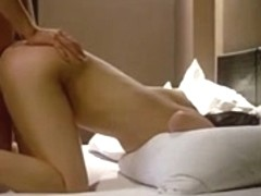 Boyfriend fondle and fucks his korean girlfriend on bed