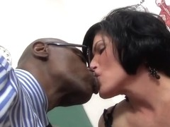 Sexy mother I'd like to fuck acquires her wet crack drilled by darksome penis
