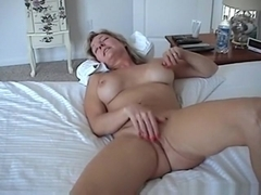 Mature usa redneck couple oral, missionary, cowgirl and doggystyle sex with dirty talk in the bedr.