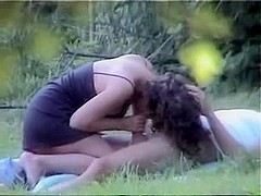 Hidden cam caught me fucking my girlfriend in a park