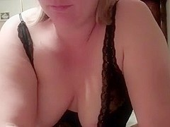 Wife in mask gets facial