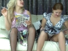 LadiesKissLadies Scene: Flossie and Megan