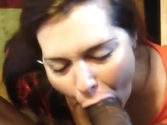 big beautiful woman hotty getting pecker slapped and engulfing giant bbc