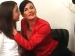 Not mom and daughter sharing a dick