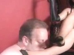 Femdom Nylons Worship and Trample