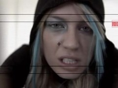 Emo Girl Gets Some Rough Anal,By Blondelover.