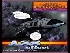 3D Comic: Ass Effect. Episode 1