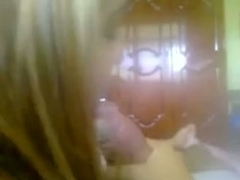 Wicked Golden-Haired Legal Age Teenager Sucks Her BF's 10-Pounder POV