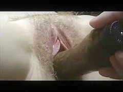 Amateur Wife Toyed to Strong Orgasm