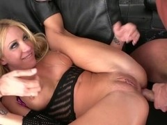 LiveGonzo Amy Brooke Sexy DP Blonde Offering Pleasure