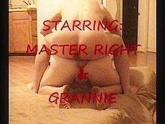 Grannie receives drilled in the a-hole by MasterRight