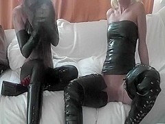 Latex Dominas YOU are our figure of enjoyment