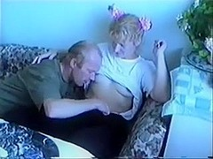 father Gets His Way With step-daughter !