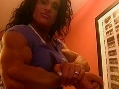 Debbie Bramwell sexy muscle