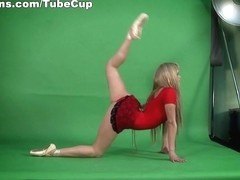 Anna Nebaskowa - Gymnastic Video part 3