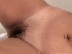 Full Bushed Amateur Fingering Herself For The First Time On Camera