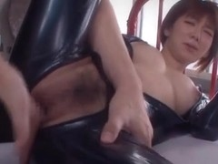 Mayu Nozomi hot Asian milf gets bondage action