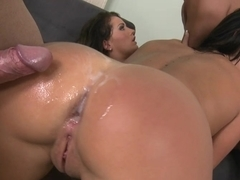 Two Euro girls get their asses fucked