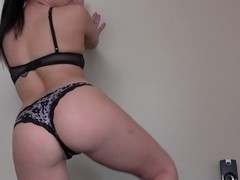 Big ass girlfriend anal banged pov
