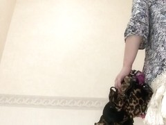 Lingerie changing room video with a fresh Asian girl