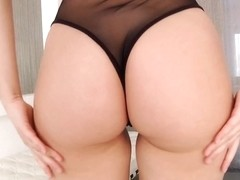 Pornstar Valentina Nappi doggystyled anally