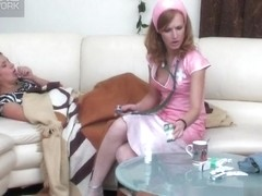 LacyNylons Movie: Sheila and Emilia C