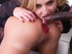 Horny Gaping, Threesome xxx movie