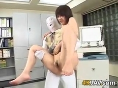 Japanese Chick Fucked In The Office