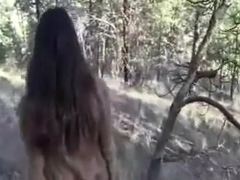 Hiking Trip Turns into a Great Public BJ