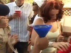 Sluts Jeanie And Gina Fucked In Public