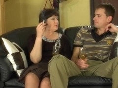 MaturesAndPantyhose Video: Emilia B and Charles