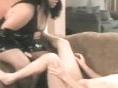 Betty Rage Bonks Her Male Sub In The Butt
