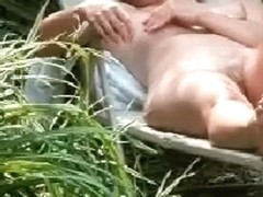 my neighbour masturbating in her garden I am to afraid to aproach her