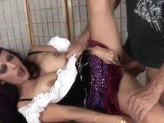 Nasty Gypsy Foresees Engulfing And Fucking