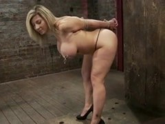 Male dom tits and pussy play